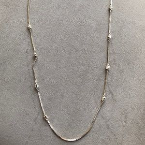 34 inch Gold chain necklace from Banana Republic.